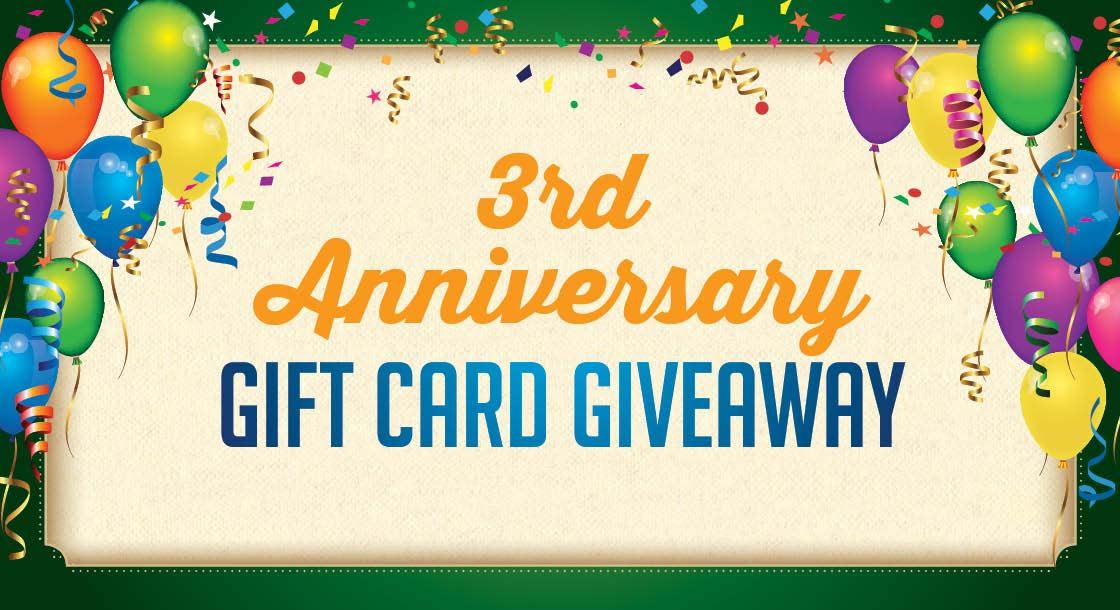 3rd Anniversary promotion at Derby City Gaming